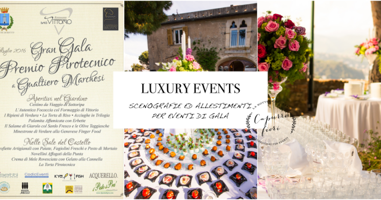 LUXURY EVENTS